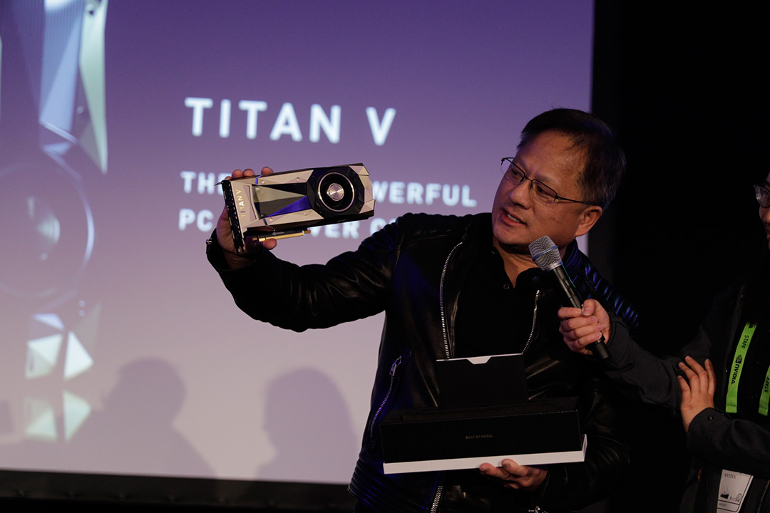 NVIDIA представила самую мощную видеокарту для ПК, Titan V