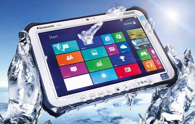 Panasonic представил защищенный от взрывов планшет в России