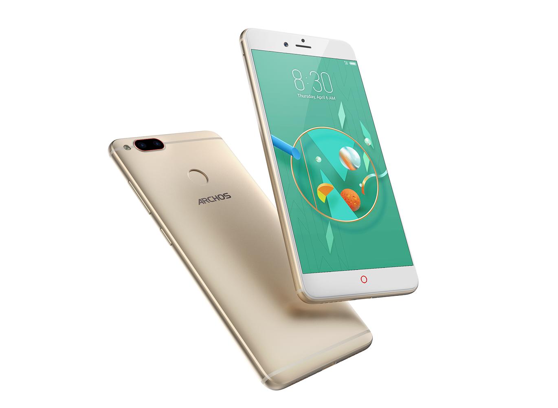 Объявлена российская цена смартфонов Archos Diamond Alpha и Alpha Plus с двойной камерой
