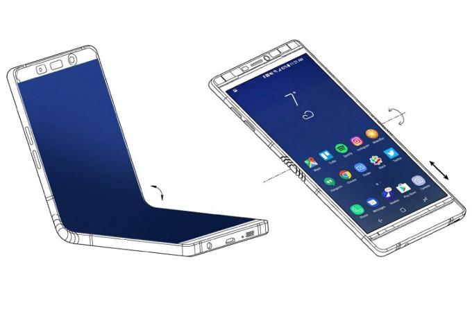 Samsung тайком показала складной Galaxy X избранным