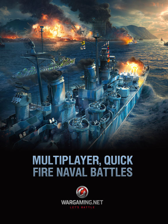 Военно-морская игра World of Warships Blitz выходит для iOS и Android