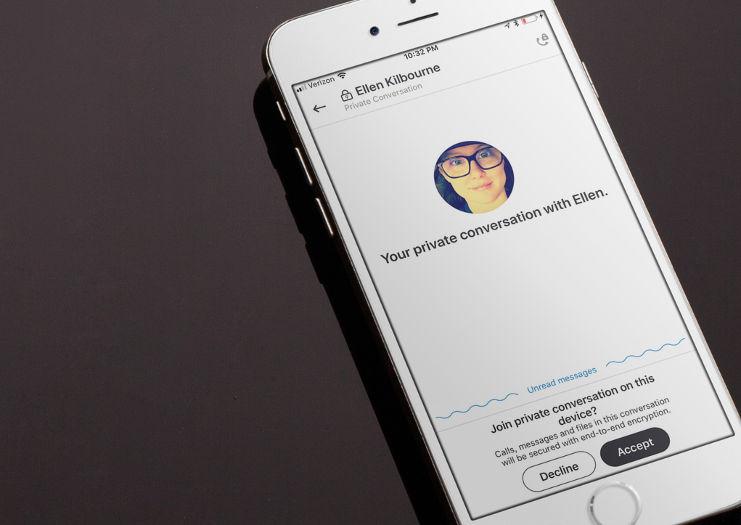 В Skype появились секретные чаты со сквозным шифрованием