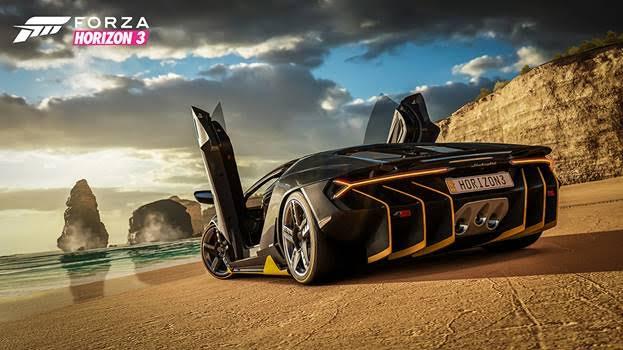 Forza Horizon 3 c подержкой 4К вышла для Xbox One X