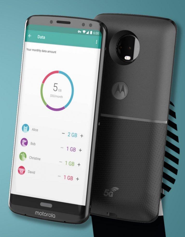 Безрамочный смартфон Moto Z3 получил изогнутый дисплей