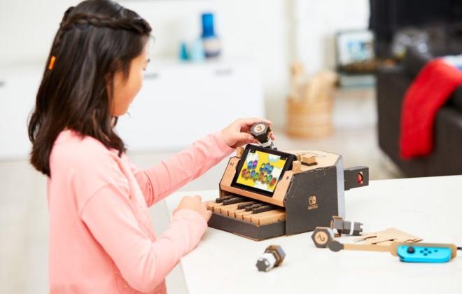 Nintendo предложит картонный конструктор по цене приставок