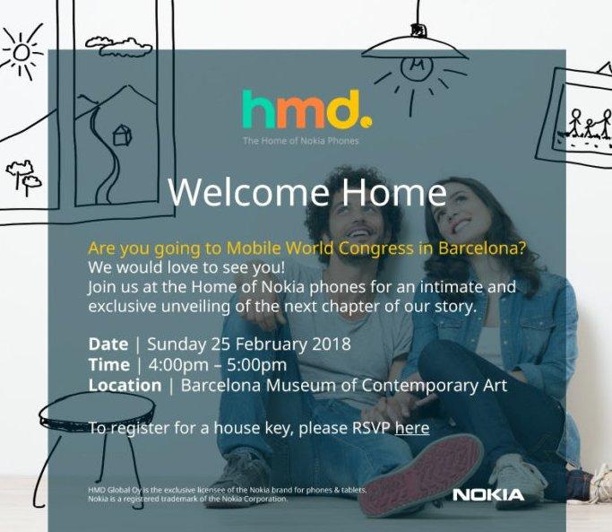 HMD готовит большой анонс Nokia на MWC 2018