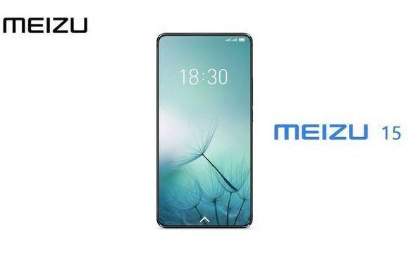 Безрамочный смартфон Meizu 15 Plus показался на рендерах