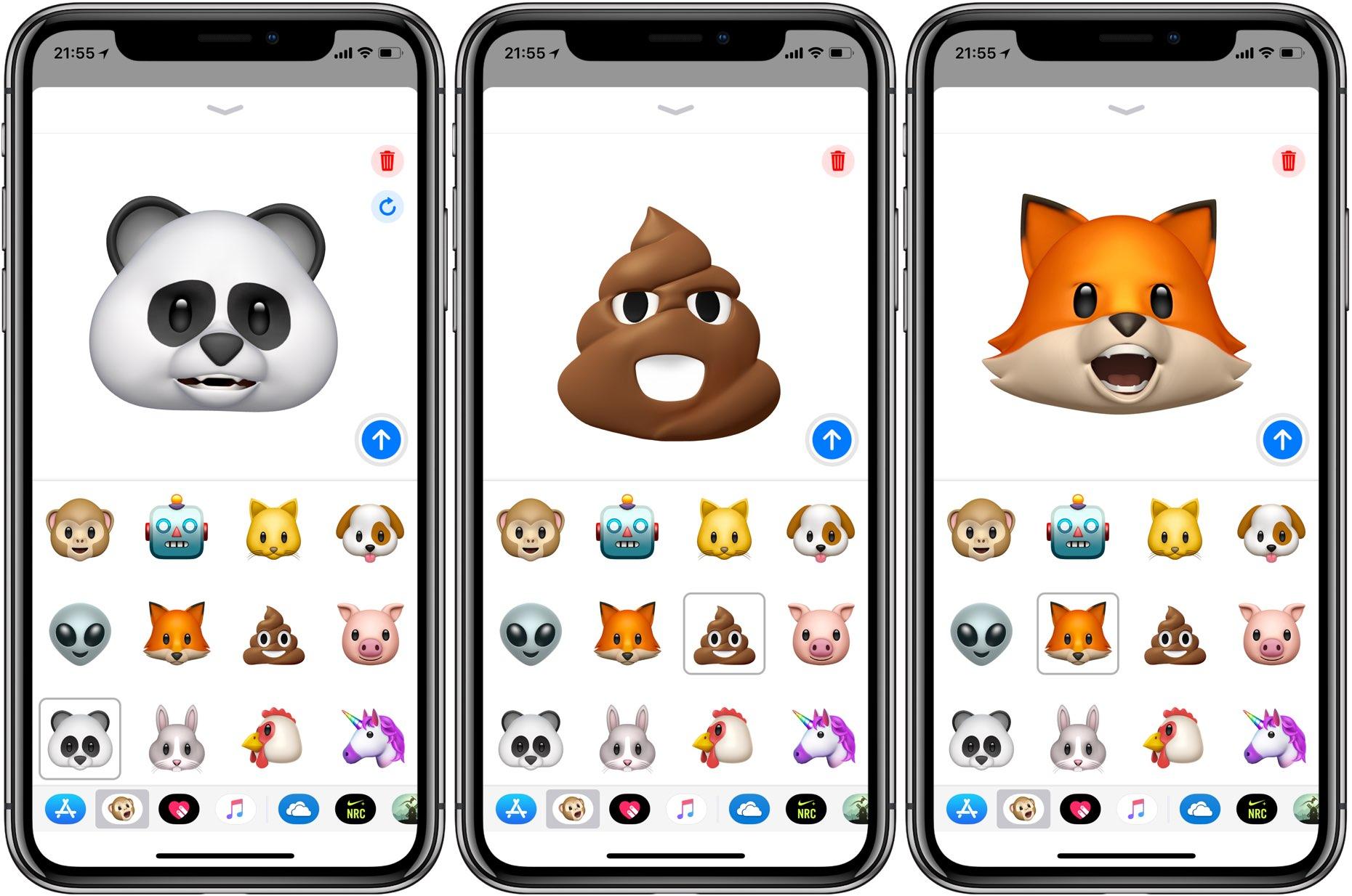 iOS 12 добавит анимированные эмодзи в FaceTime