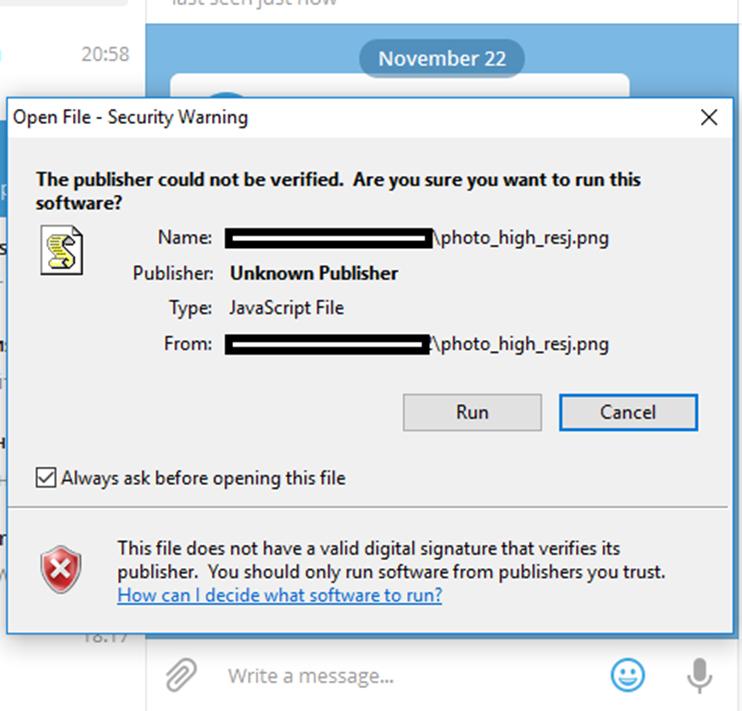 Обнаружена уязвимость нулевого дня в Telegram