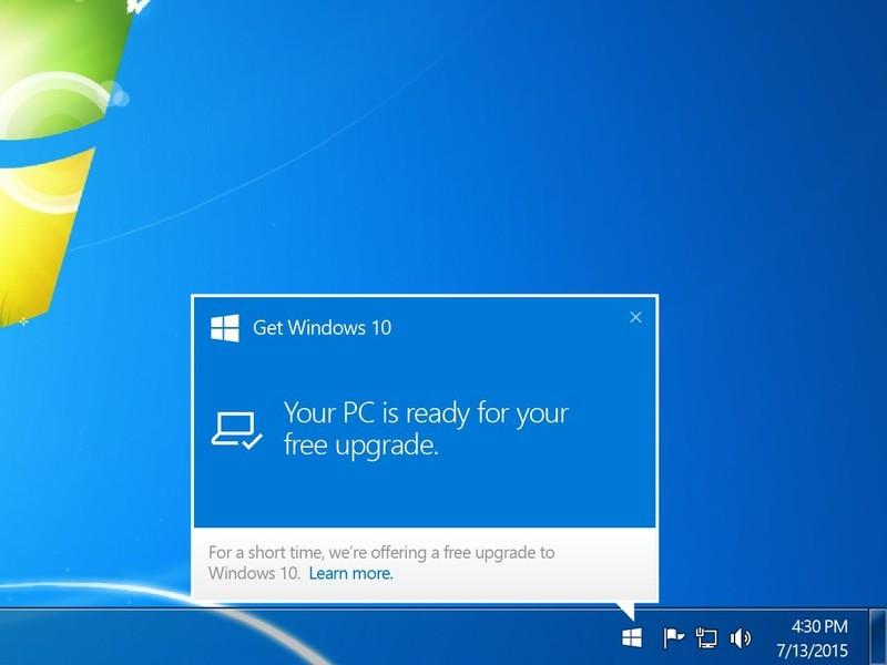 Цифра дня: Сколько просят с Microsoft  за насильный апдейт до Windows 10?