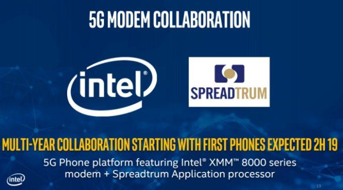 Intel обещает ноутбуки со связью 5G в 2019 году