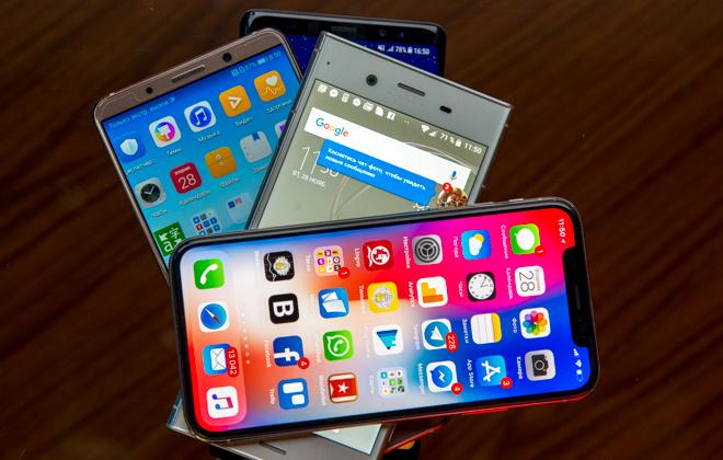 Большой тест лучших мобильных камер: iPhone X, Sony Xperia XZ1, Samsung Galaxy Note8 и Huawei Mate 10 Pro