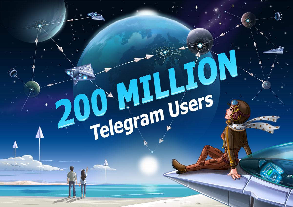 Цифра дня: Сколько пользователей у Telegram?
