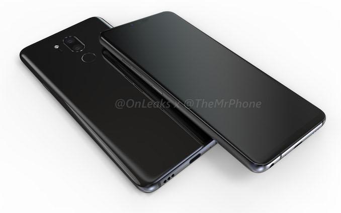Смартфон LG G7 показался на рендерах и видео