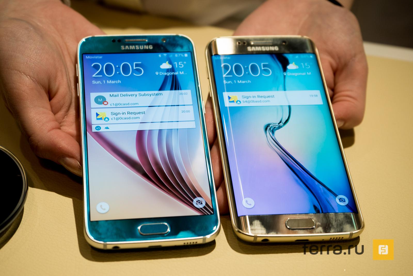 Samsung прекратила поддержку Galaxy S6 и S6 edge