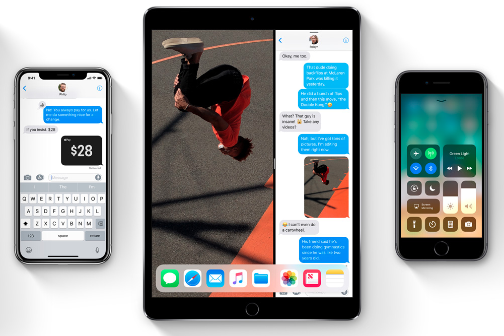 Apple выпустила первую публичную бета-версию iOS 11.4