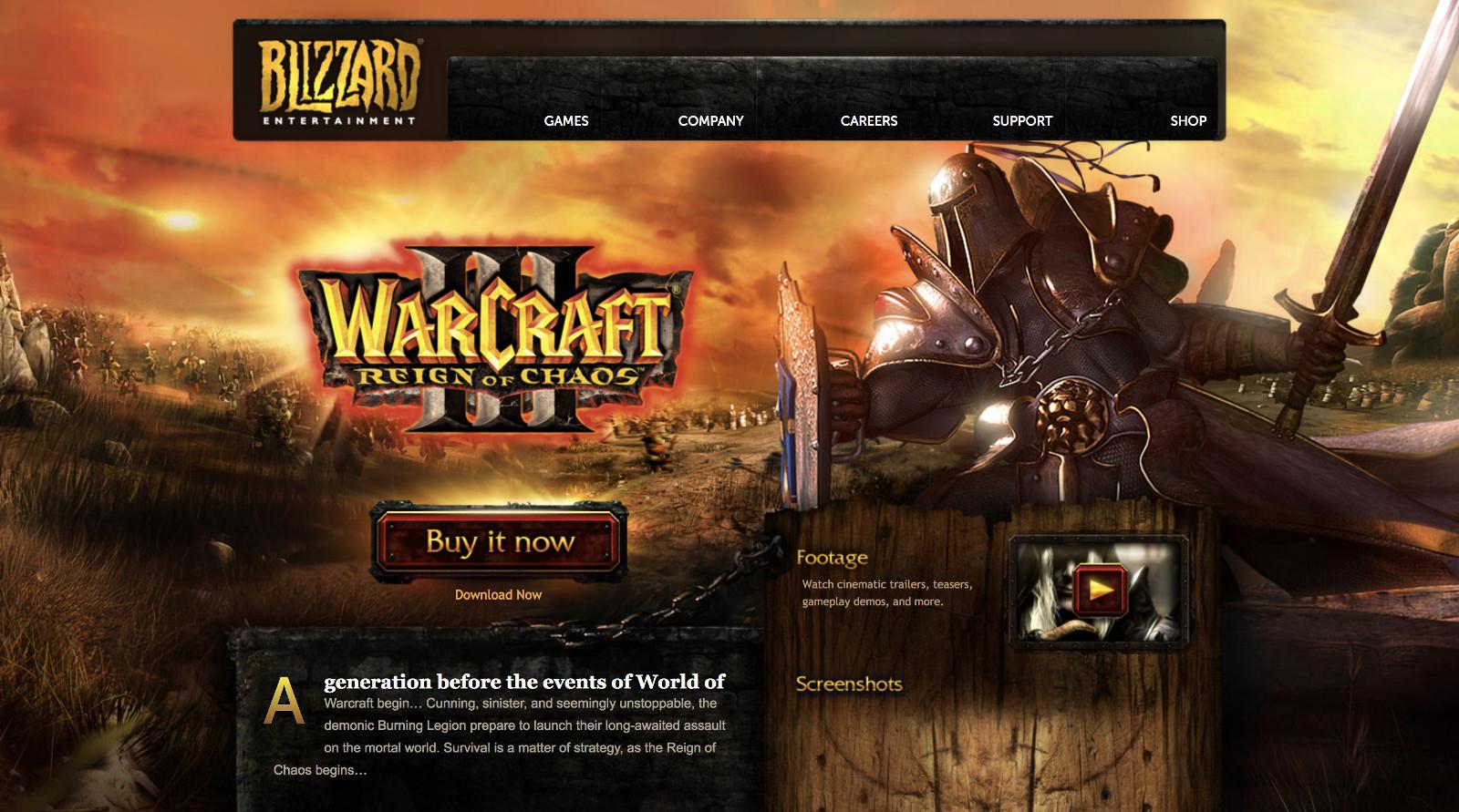 Blizzard добавила в Warcraft III поддержку широкоформатных мониторов