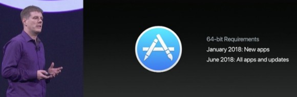 Apple напомнила о прекращении поддержки 32-битных приложений для Mac