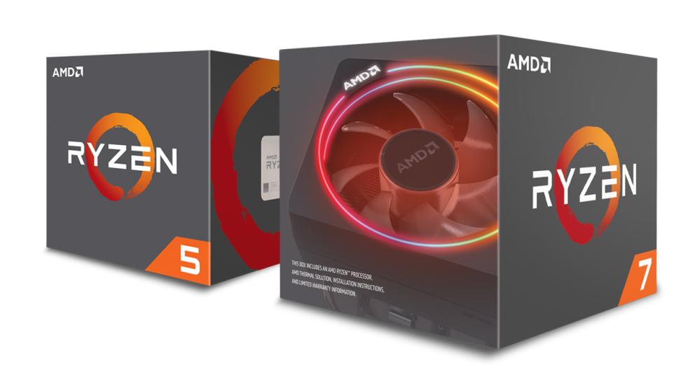 AMD представила десктопные процессоры Ryzen второго поколения
