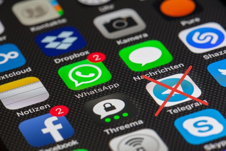 Роскомнадзор потребует удаления Telegram из App Store и Google Play
