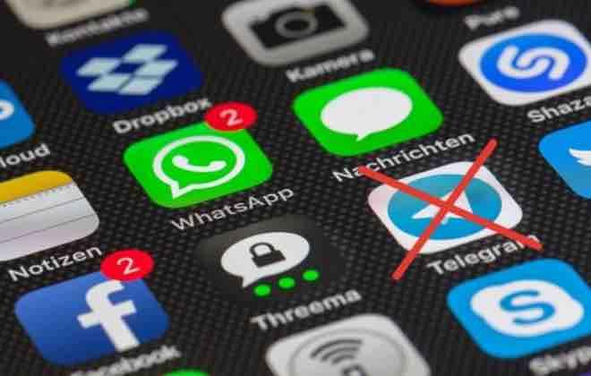 Роскомнадзор потребовал удаления Telegram из App Store и Google Play