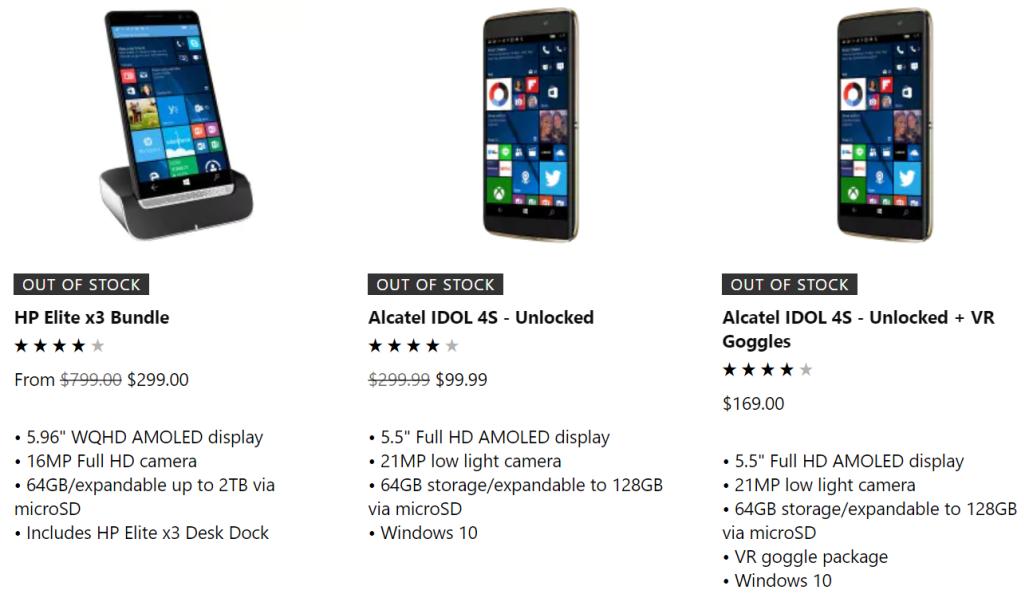 Microsoft распродал остатки смартфонов на базе Windows Phone