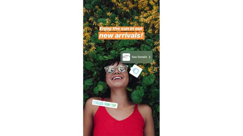 Instagram запустил «магазин» в Историях