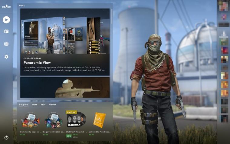 Counter-Strike: Global Offensive сменит интерфейс впервые с 2012 года