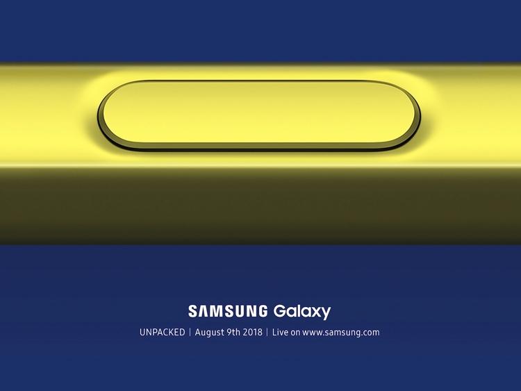 528843 - Samsung назвала дату презентации Galaxy Note 9