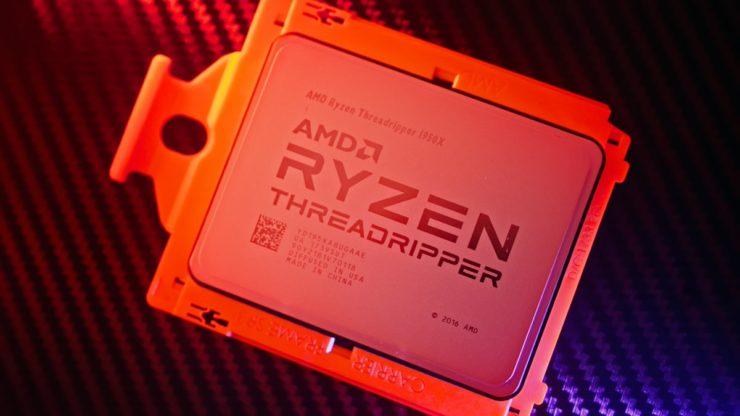 Раскрыты дата выхода и цена 32-ядерного процессора AMD