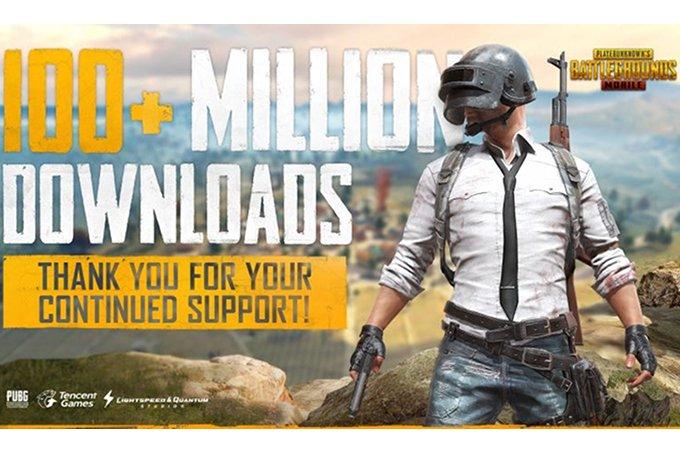 Цифра дня: Сколько раз скачали мобильную игру PUBG?