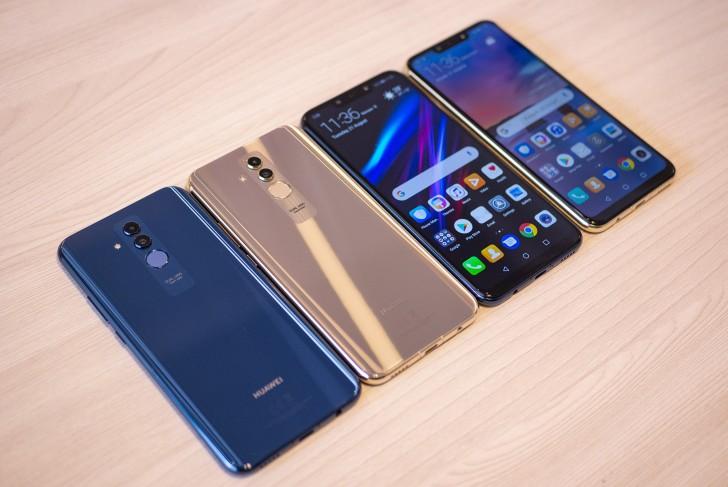 Huawei Mate 20 Lite засветился на подробном видео