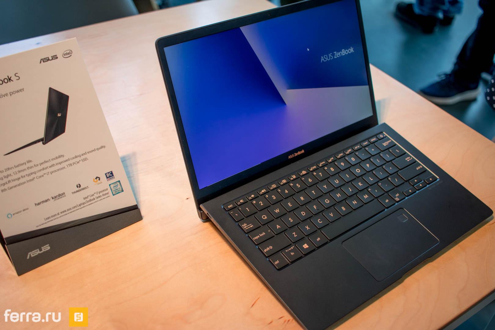 ASUS показала тонкий ноутбук, который работает без подзарядки 20 часов
