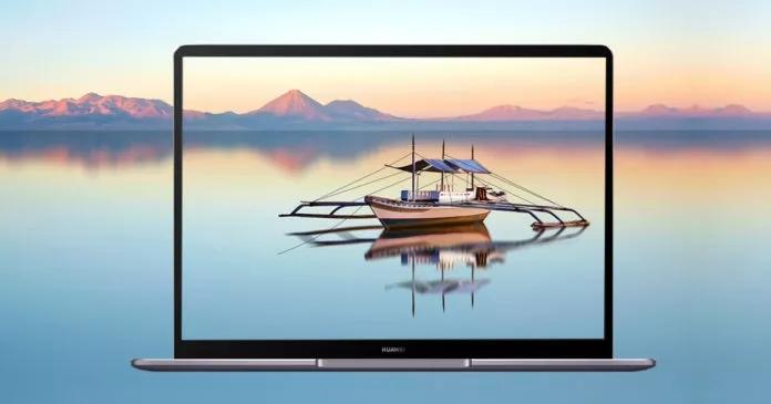 Huawei выпустила новый компактный флагманский ноутбук