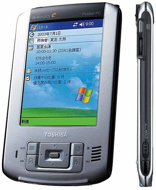 GENIO e400 - новый Pocket PC от Toshiba