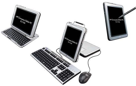 ����� Tablet PC �� Hewlett-Packard
