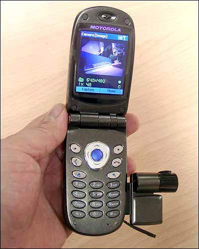 ����������� ��������� Motorola MPx200 �������� � ������ 2004