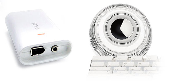 iFire - FireWire переходник для iPod