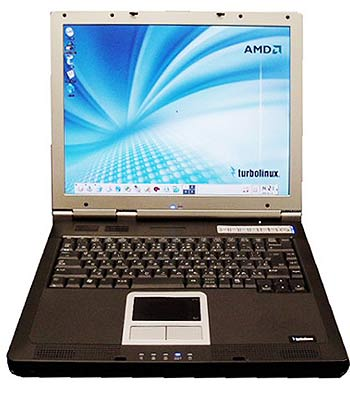 �������� �� ���� Athlon 64, ���������� ��� �� TurboLinux 8