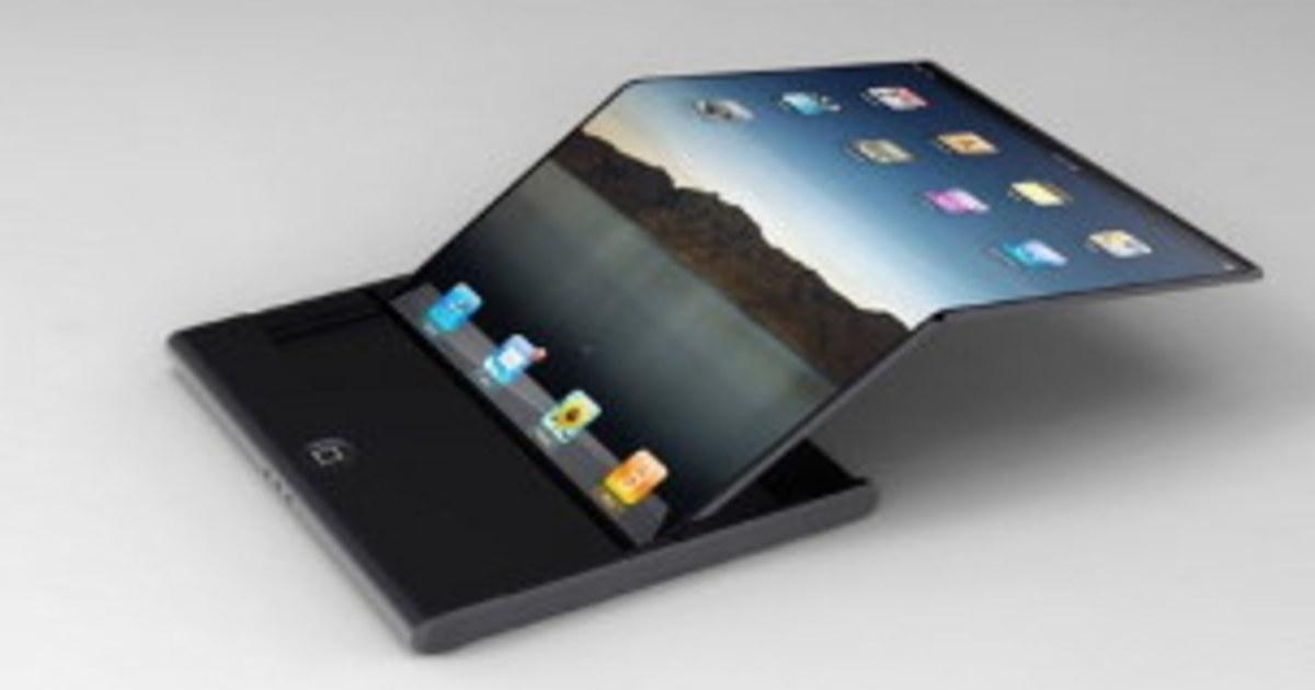 Apple запатентовала футуристический смартфон с гибким дисплеем