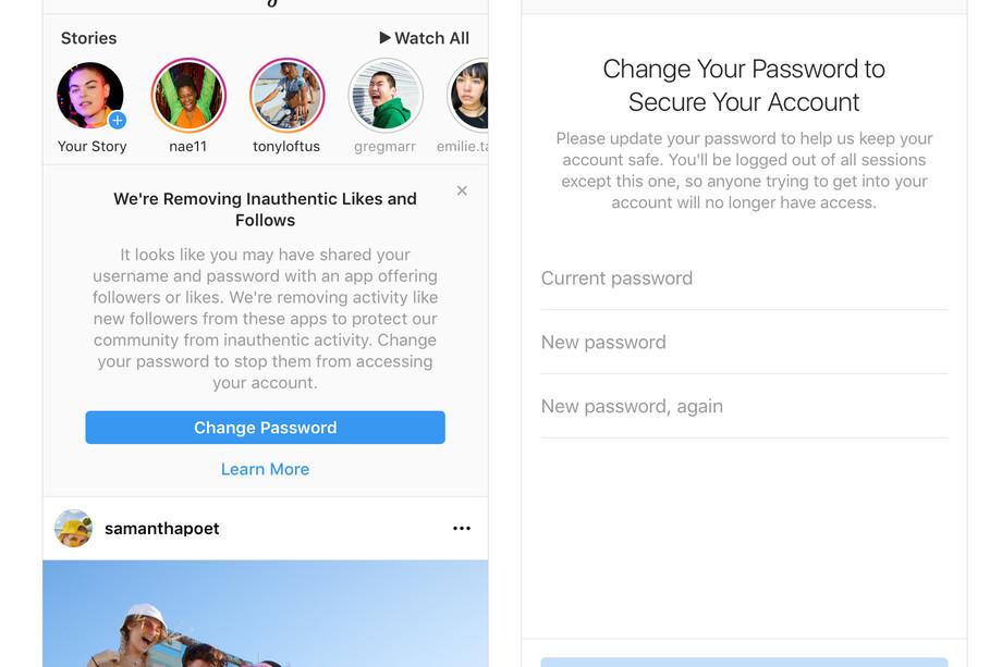 В Instagram лишили пользователей возможности накрутки «лайков» и «фолловеров»