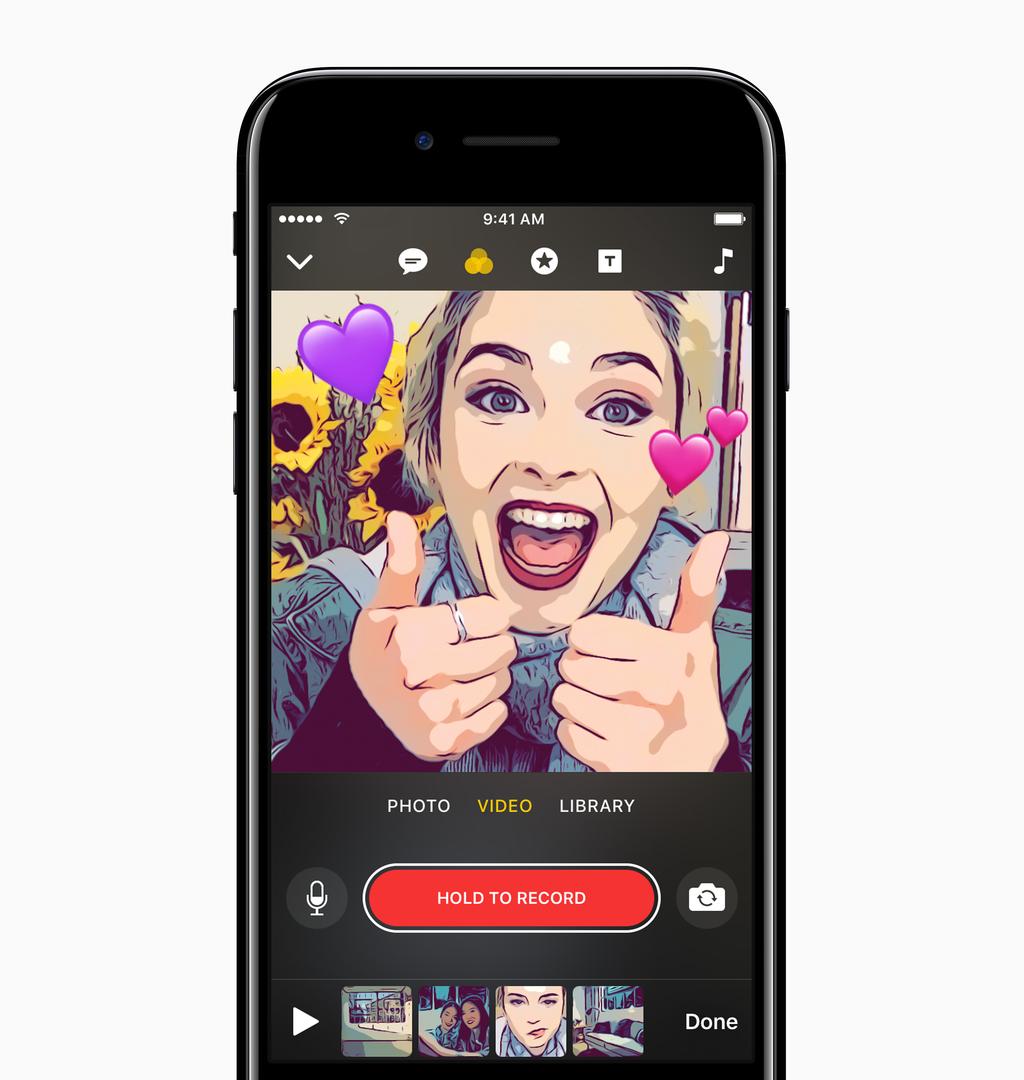 приложение на айфон фото с эффектами рисунка шале