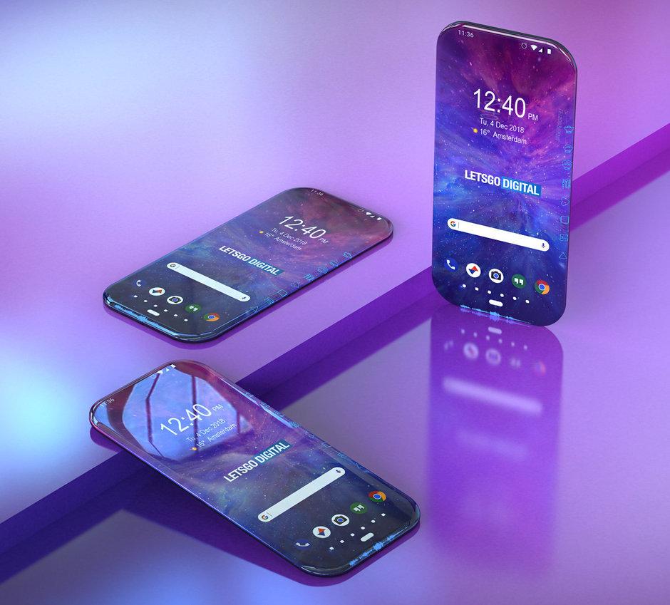 Samsung готовит полностью безрамочный смартфон с экранами по бокам