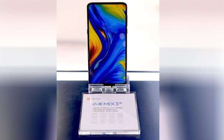 Xiaomi Mi Mix 3 с новым процессором появился спустя полтора месяца после дебюта