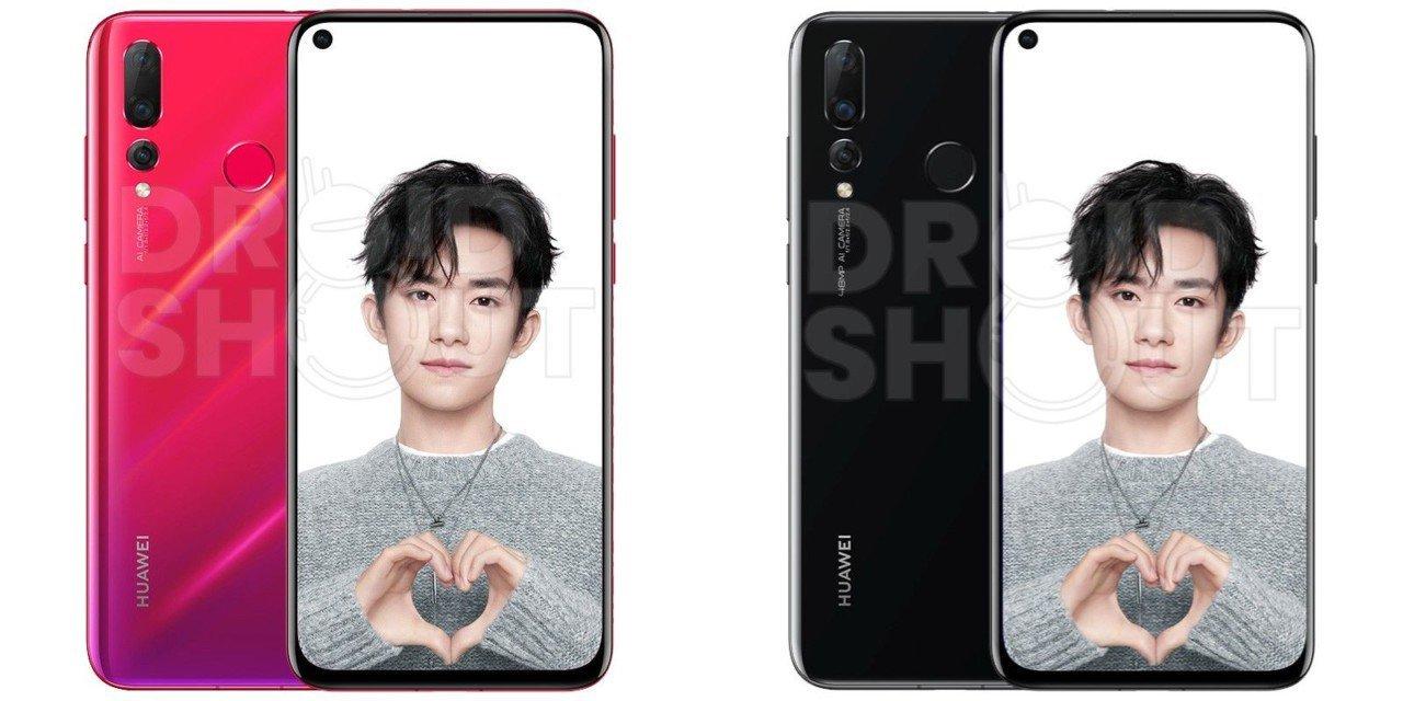 Смартфон Huawei Nova 4 с дырявым дисплеем показался в рекламном видео