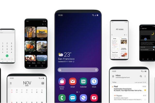 Samsung показала новую оболочку для будущих флагманов