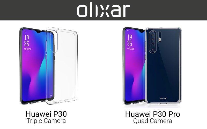Рассекречены качественные изображения флагманских Huawei P30 и P30 Pro