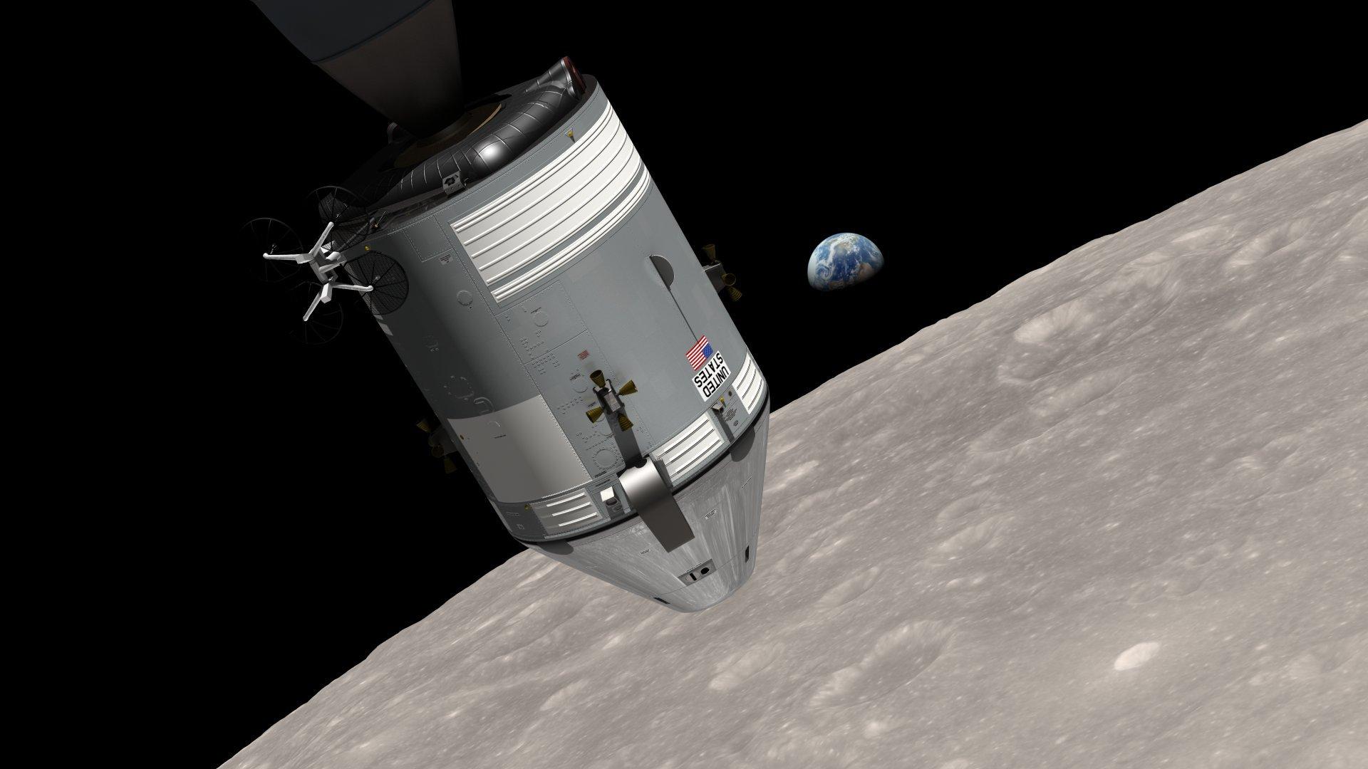 День, когда человек попал на орбиту Луны