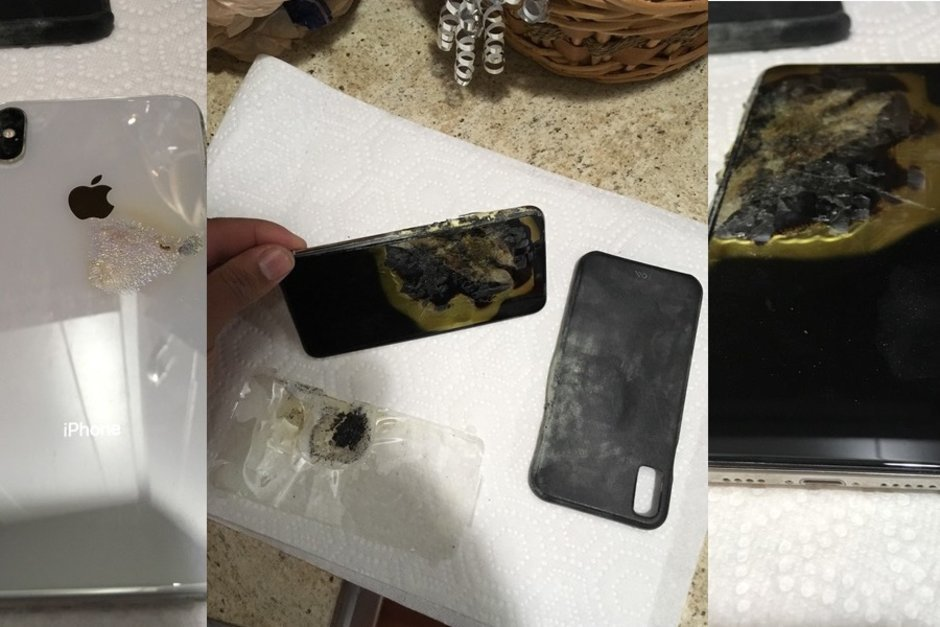 iPhone XS Max загорелся прямо в кармане пользователя
