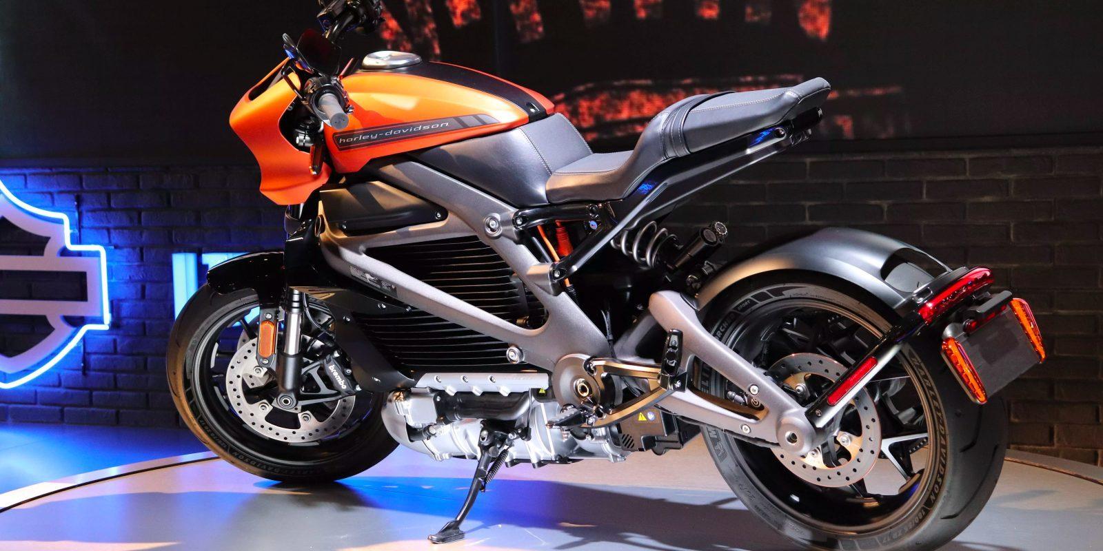 Harley-Davidson выпустил электромотоцикл с постоянным подключением к интернету